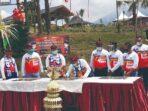 Foto : Ist-IP Menteri Hukum dan Hak Asasi Manusia (Menkumham), Yasonna H Laoly saat meresmikan sarana Asimilasi dan Edukasi (SAE) dan Bike Park, di Desa Maguwan, Kecamatan Ngajum, Kabupaten Malang, Rabu (16/9/2020).