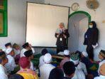 Foto : Ist- IP Sosialisasi mengenai bahaya narkoba kepad siswa-siswi Taman Pendidikan Al-Quran (TPQ) Babussalam di Warung Ilmu Lereng Kaki Gunung Karang Sari